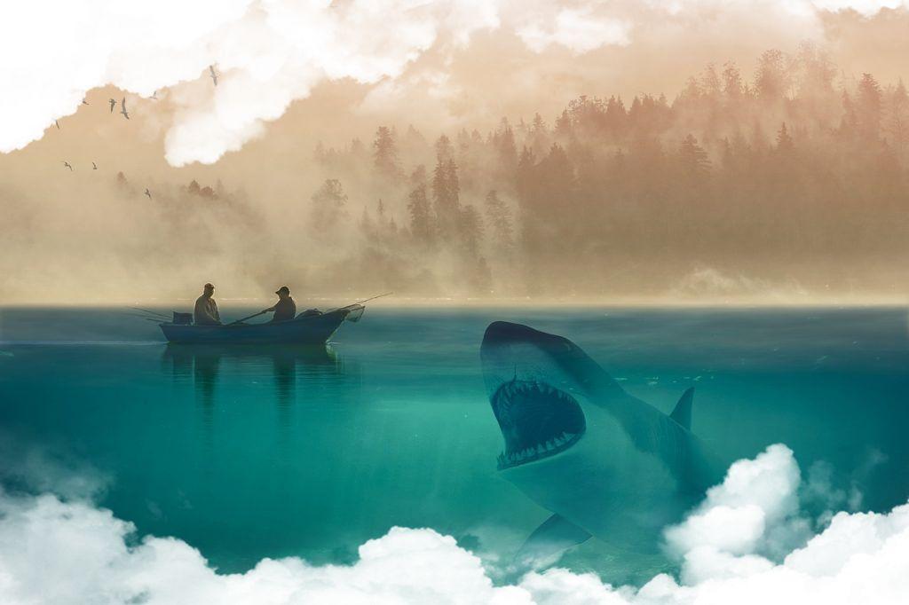 Simbolismo de los tiburones en sueños